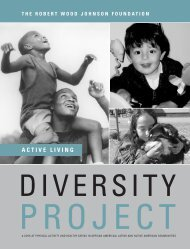 A look at physical activity and healthy eating in African American ...