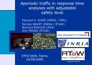 Aperiodic traffic in response time analyses with ... - RealTime-at-Work