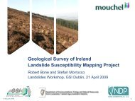 Geological Survey of Ireland Landslide Susceptibility Mapping Project
