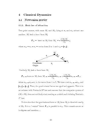 4 Classical Dynamics