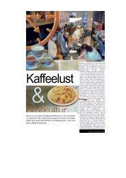 Seit einem Jahr gibt es Kaffeelust & Brotkultur in der Innenstadt von ...