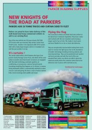new knights of the road at parkers - Parker Building Supplies