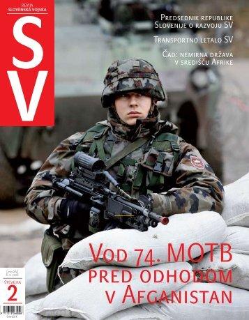 Letnik XVI/2 - Ministrstvo za obrambo