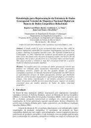 Metodologia para Representação da Estrutura de Dados ...