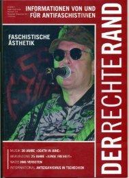 """Artikel über die Band """"Death In June"""" - Schwarz statt Braun"""