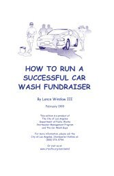 How to Run a Successful Car Wash Fundraiser - Online Think Tank