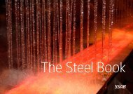 The Steel Book. A leaflet from SSAB about how yo ... - Jernkontoret