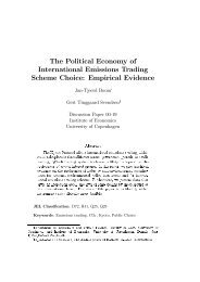The Political Economy of International Emissions Trading Scheme ...