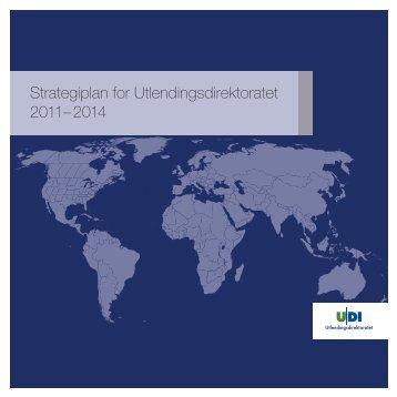 UDIs strategiplan for 2011 - 2014.