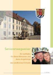 Seniorenwegweiser (Teil 1) - Landkreis Eichstätt
