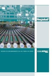 sistema de recubrimiento de los tubos de acero - Venjakob ...