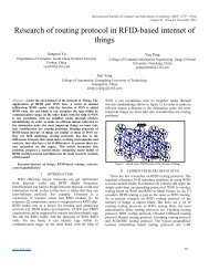 Research of routing protocol in RFID-based internet of things - IJCIT