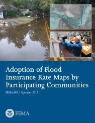 Adoption of Flood Insurance Rate Maps by Participating ... - RAMPP