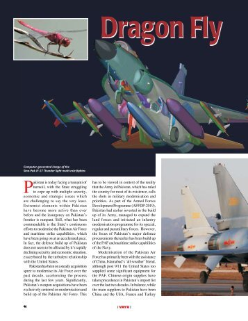 Dragon Fly and Pakistan Air Force plans - Vayu Aerospace