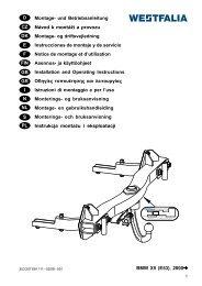 BMW X5 (E53), 2000 D Montage- und Betriebsanleitung Návod k ...