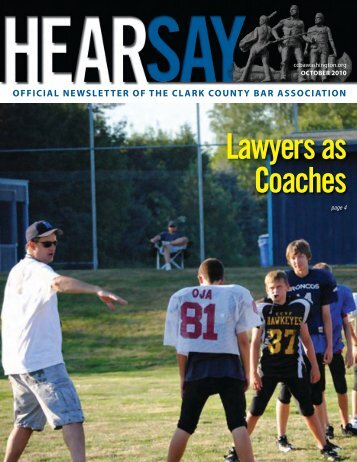 Lawyers as Coaches - Clark County Bar Association