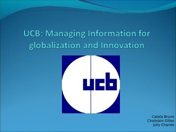 ucb managing information for globalization and innovation Iaru global summer program – university of california, berkeley the 3-week certificate course on sustainable environmental management the urban innovation.