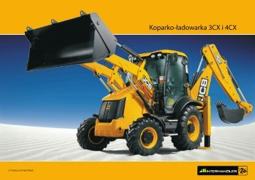 Koparko-ładowarka 3CX i 4CX - Interhandler