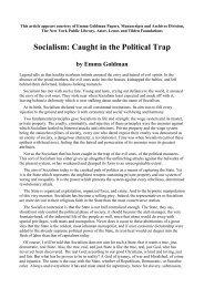 Emma Goldman - Socialism Caught in the Political Trap.pdf