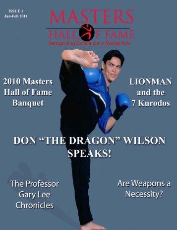 Masters Hall of Fame - World Wide Dojo