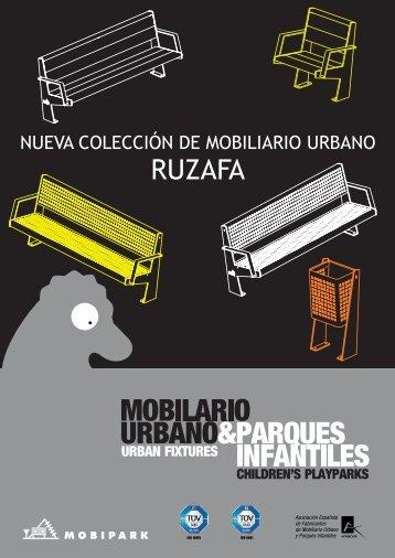 Colección Ruzafa - MOBIPARK SL, Mobiliario Urbano y Parques ...