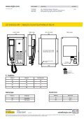 VAF-1 ANALOG FLUSH TELEpHONE W/RELAY - Zenitel - Page 2