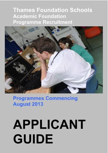 TFS - Local Applicants Guide 2013 - Version 2.pdf - South Thames ...