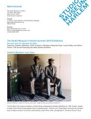 Summer 2010 Exhibitions and Projects Download PDF - The Studio ...