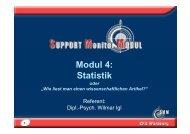 Modul 4: Statistik - Wilmar Igl