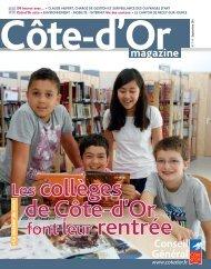 septembre 2011 en PDF - Conseil Général de la Côte-d'Or