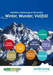 Gästeführer Winter 2013/14 - Werfenweng