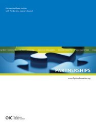 Partnership Opportunities with The Options Industry Council