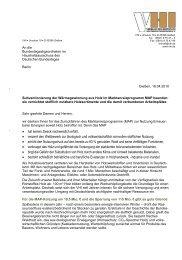 100416 Bf1 VHI an Haushaltsausschuss - Holz verantwortungsvoll ...