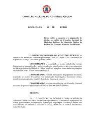 1. Regulamentação do pagamento de diárias a membros e ... - Amperj