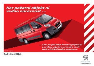 Ker požarni objekt ni vedno naravnost ... - Peugeot