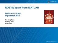 ROSCon-2014_MathWorks