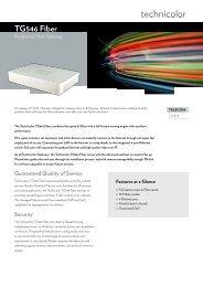 tG546 Fiber - Marcom Telecoms Home page