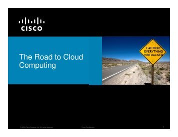 The Road to Cloud Computing