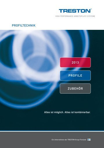 PROFILTECHNIK ZUBEHÖR 2013 PROFILE - Treston