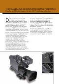 14-bit-kamera für die komplette digitale produktion - velten.tv - Page 2