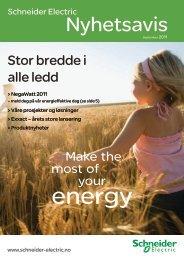Last ned PDF av Nyhetsavisen 2011 - Schneider Electric
