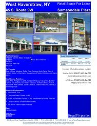 West Haverstraw, NY - Royal Properties, Inc.