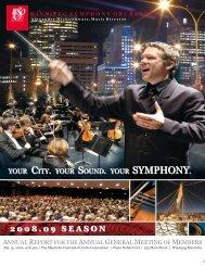 for 2008 - Winnipeg Symphony Orchestra