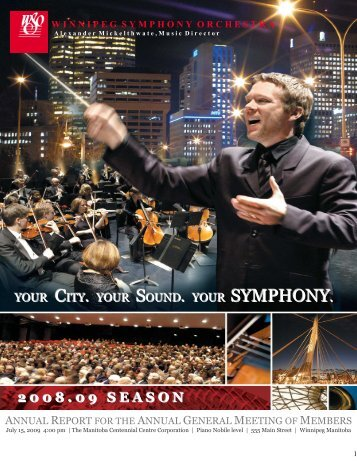 for 2008 - Winnipeg Symphony Orchestra