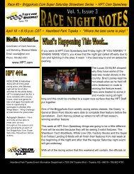 Race #3 • BriggsAuto.Com Super Saturday ... - In The Pits.Net