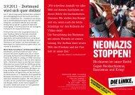 NEONAZIS STOPPEN! - Die Linke NRW