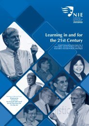 Learning in and for the 21st Century - National Institute of Education