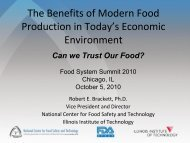 The Benefits of Modern Food Production in Today's Economic ...