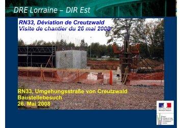 Télécharger ici la présentation de la visite de chantier (format PDF).