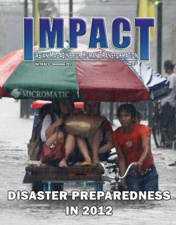 Php 70.00 Vol. 46 No 9 • September 2012 - IMPACT Magazine Online!